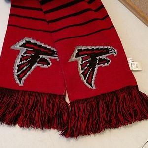 NFL Atlanta Falcons unisex fringe knit scarf